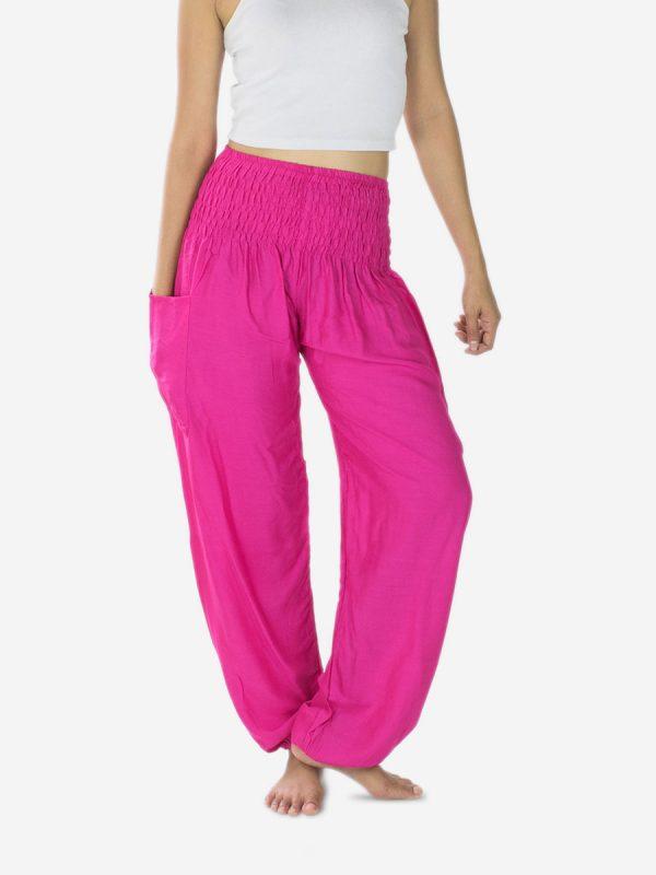 Bright Pink Yoga Pants