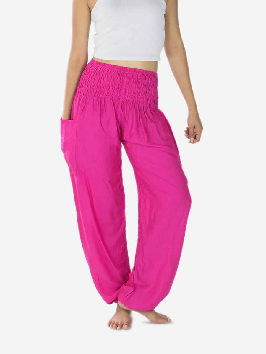 bright-pink-yoga-pants