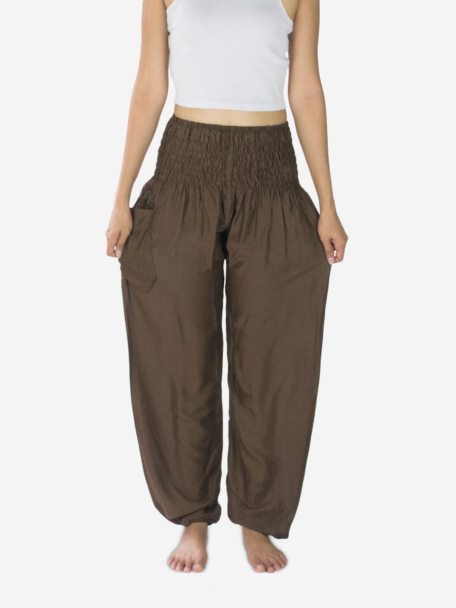 brown-yoga-pants-thai-bohemian