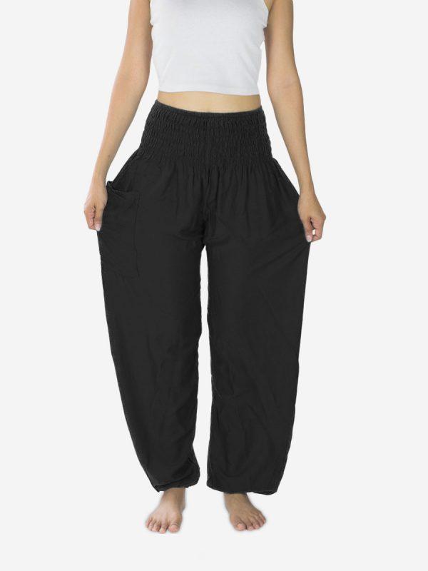 plain-black-yoga-pants