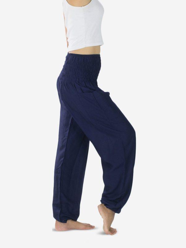 plain-thai-harem-pants-for-yoga