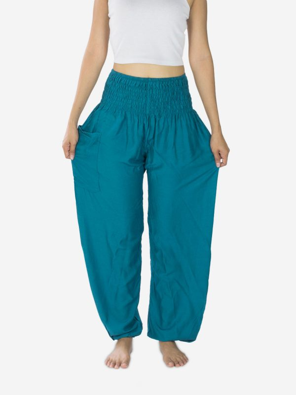 Turquoise Harem Pants