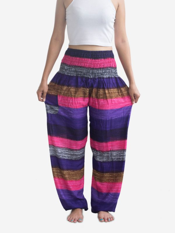 big-pink-striped-thai-harem-pants