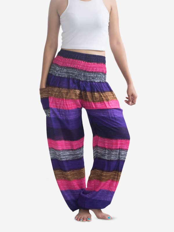 stripey-yoga-pants-pink-from-thailand