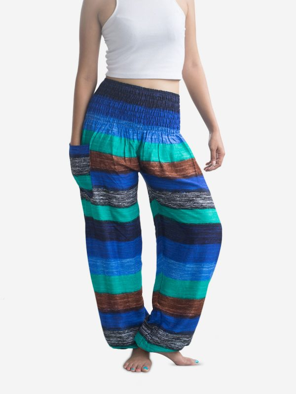 thai-harem-pants-nautical-blue-stripes