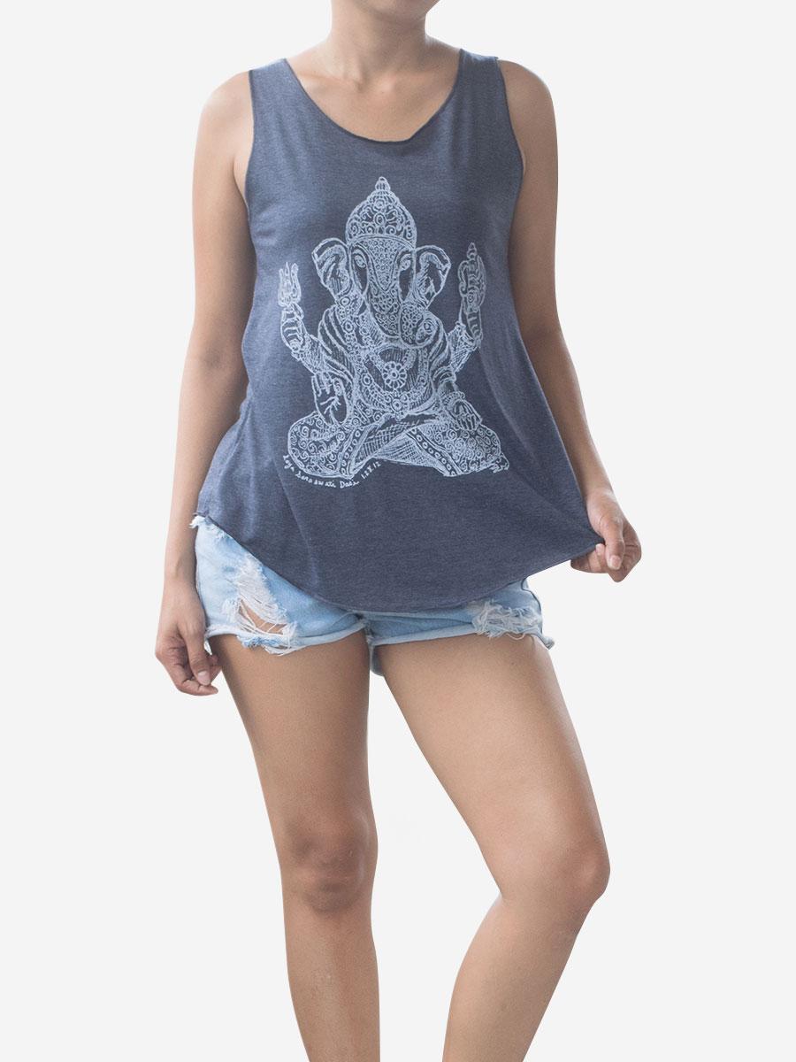 navy-ganesha-elephant-vest-top-meditiation-yoga-thai-cotton-4