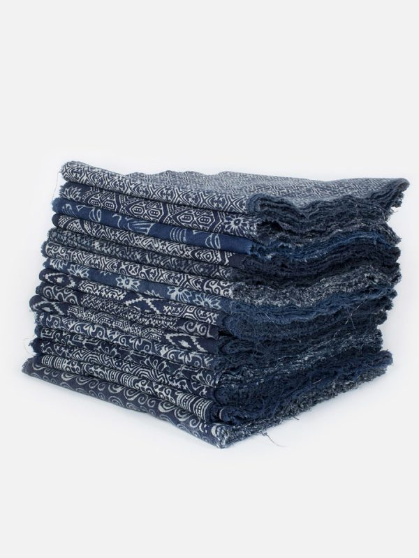 25yd Wholesale Hill Tribe Indigo Fabric